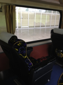 My northbound seat - much nicer!