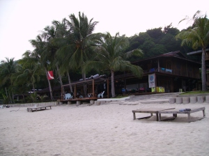 The Redang Kalong dive resort - where I learnt to dive in 2005