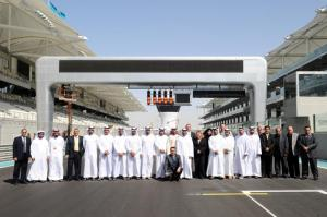 Three weeks before the inaugural F1 Grand Prix at Yas Marina Circuit, we had a VIP behind the scenes tour of the facility. Not your average staff outing....