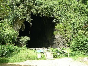 Entrance to Gomantong Cave  Photo Credit: http://www.mps.sabah.gov.my/