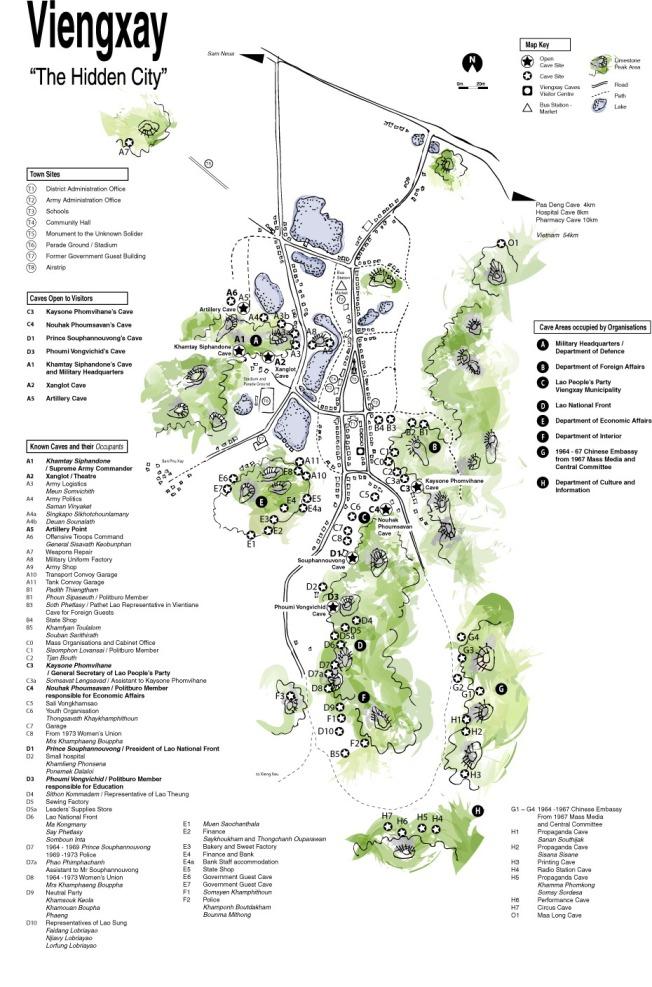 Map credit:  www.visit-viengxay.com